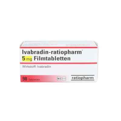 Ivabradin ratiopharm 5 mg Filmtabletten  bei apo.com bestellen