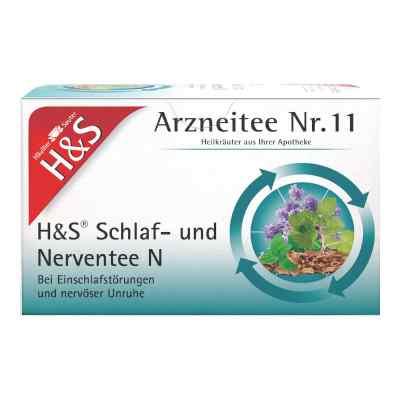 H&s Schlaf- und Nerventee N Filterbeutel  bei apo.com bestellen