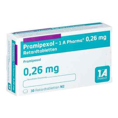 Pramipexol 1a Pharma 0,26 mg Retardtabletten  bei apo.com bestellen