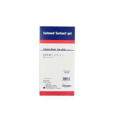 Cutimed Sorbact Gel Kompressen 7,5x15 cm  bei apo.com bestellen