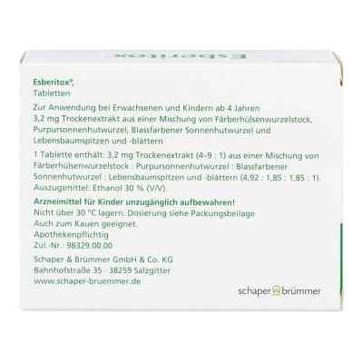 Esberitox Tabletten  bei apo.com bestellen