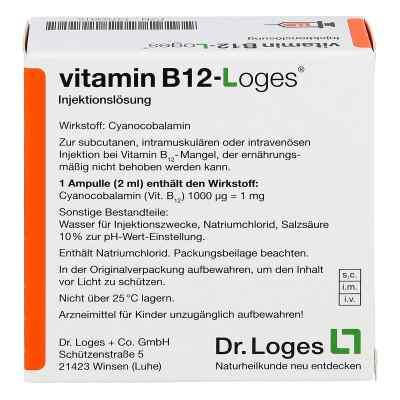 Vitamin B12-loges Injektionslösung Ampullen  bei apo.com bestellen