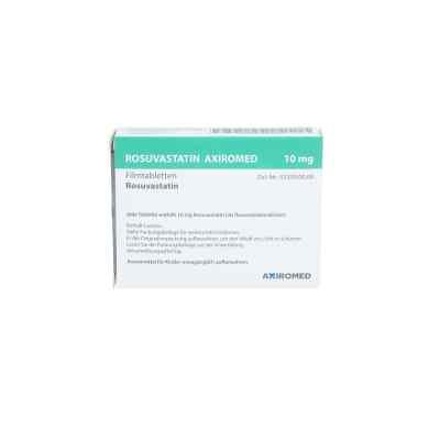 Rosuvastatin Axiromed 10 mg Filmtabletten  bei apo.com bestellen