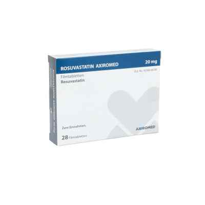 Rosuvastatin Axiromed 20 mg Filmtabletten  bei apo.com bestellen