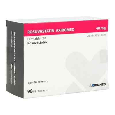 Rosuvastatin Axiromed 40 mg Filmtabletten  bei apo.com bestellen