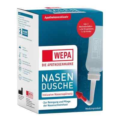 Wepa Nasenspülkanne mit 10x2,95 g Nasenspülsalz  bei apo.com bestellen