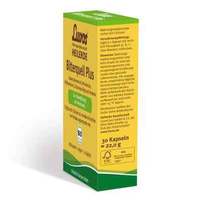 Luvos Heilerde Bio Bitterquell Plus Kapseln  bei apo.com bestellen