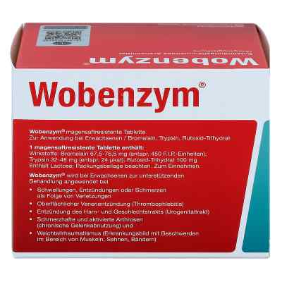 Wobenzym magensaftresistente Tabletten  bei apo.com bestellen