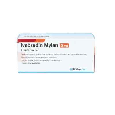 Ivabradin Mylan 5 mg Filmtabletten  bei apo.com bestellen