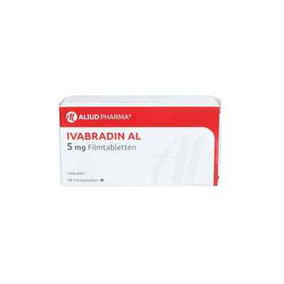Ivabradin Al 5 mg Filmtabletten  bei apo.com bestellen