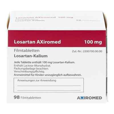 Losartan Axiromed 100 mg Filmtabletten  bei apo.com bestellen