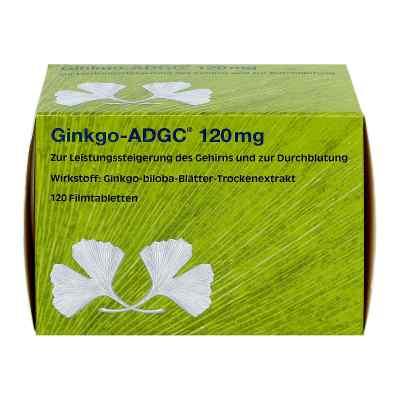 Ginkgo Adgc 120 mg Filmtabletten  bei apo.com bestellen