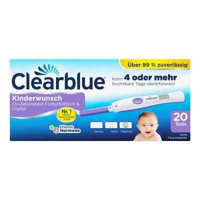 Clearblue Ovulationstest fortschrittlich & digital  bei apo.com bestellen