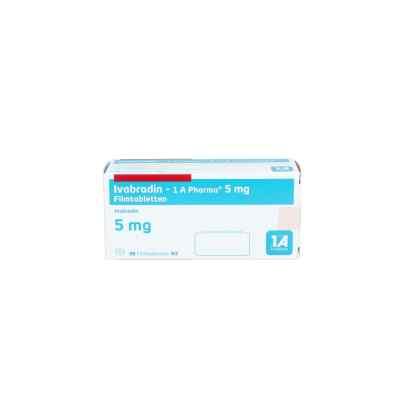 Ivabradin 1a Pharma 5 mg Filmtabletten  bei apo.com bestellen