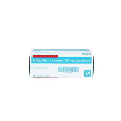 Ivabradin 1a Pharma 7,5 mg Filmtabletten  bei apo.com bestellen