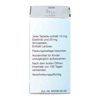 Ezetimib/simvastatin Mylan 10 mg/20 mg Tabletten  bei apo.com bestellen