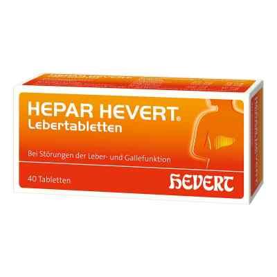 Hepar Hevert Lebertabletten  bei apo.com bestellen