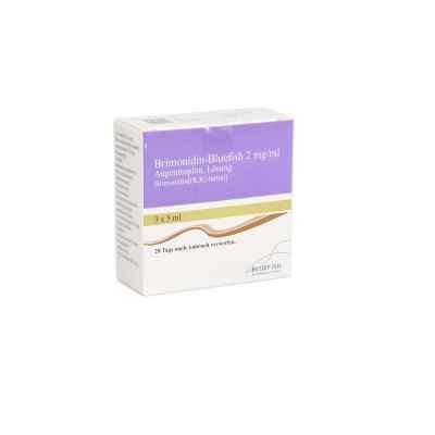 Brimonidin Bluefish 2 mg/ml Augentropfen Lösung  bei apo.com bestellen