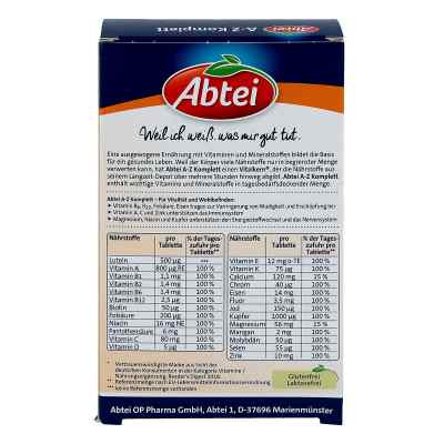 Abtei A-z Komplett Tabletten  bei apo.com bestellen