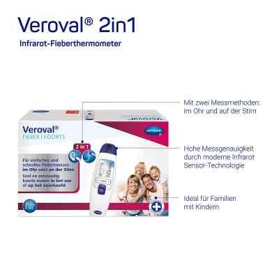 Veroval 2in1 Infrarot-fieberthermometer  bei apo.com bestellen