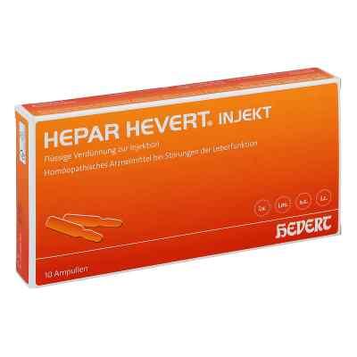 Hepar Hevert injekt Ampullen  bei apo.com bestellen