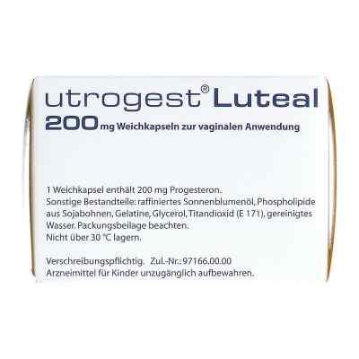 Utrogest Luteal 200 mg Weichkaps.z.vaginal.anwend.  bei apo.com bestellen