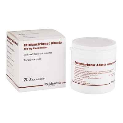 Calciumcarbonat Abanta 500 mg Kautabletten  bei apo.com bestellen