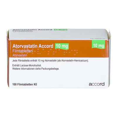 Atorvastatin Accord 10 mg Filmtabletten  bei apo.com bestellen
