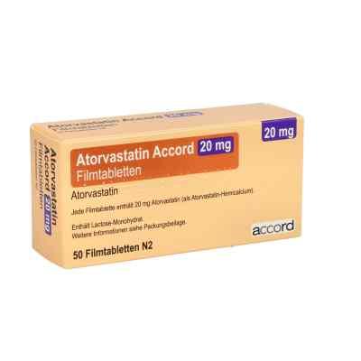 Atorvastatin Accord 20 mg Filmtabletten  bei apo.com bestellen