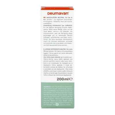 Deumavan Waschlotion sensitiv neutral  bei apo.com bestellen