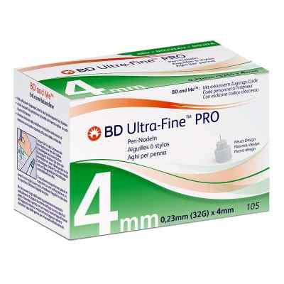 Bd Ultra-fine Pro Pen-nadeln 4 mm 32 G  bei apo.com bestellen