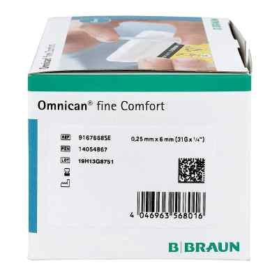 Omnican fine Comfort Pen Kanüle 31 Gx6 mm a 100 St  bei apo.com bestellen