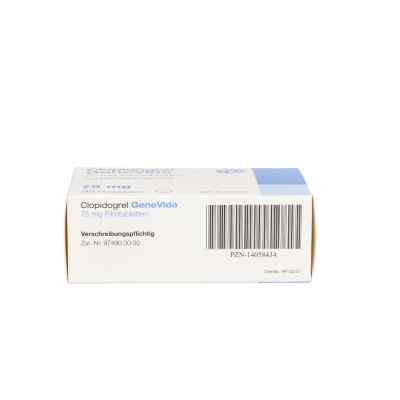 Clopidogrel Genevida 75 mg Filmtabletten  bei apo.com bestellen