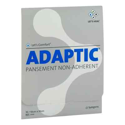 Adaptic 10x10 cm feuchte Wundauflage 2010f  bei apo.com bestellen