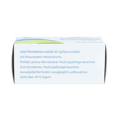 Rosuvastatin-elpen 20 mg Filmtabletten  bei apo.com bestellen