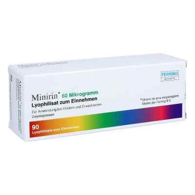 Minirin 60 Mikrogramm Lyophilisat zum Einnehmen  bei apo.com bestellen