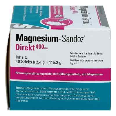 Magnesium Sandoz Direkt 400 mg Sticks  bei apo.com bestellen