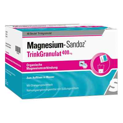 Magnesium Sandoz Trinkgranulat 400 mg Beutel  bei apo.com bestellen