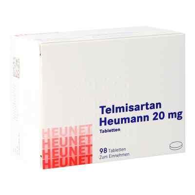 Telmisartan Heumann 20 mg Tabletten Heunet  bei apo.com bestellen