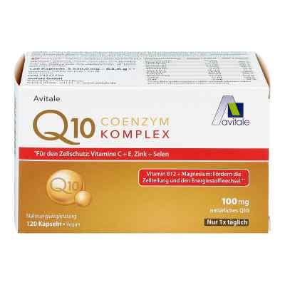 Coenzym Q10 100 mg Kapseln+vitamine+mineralstoffe  bei apo.com bestellen