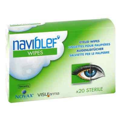 Naviblef wipes Augenlidtücher  bei apo.com bestellen