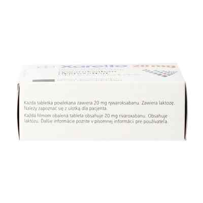 Xarelto 20 mg Filmtabletten  bei apo.com bestellen