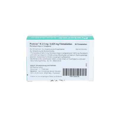 Preterax N 2,5 mg/0,625 mg Filmtabletten  bei apo.com bestellen
