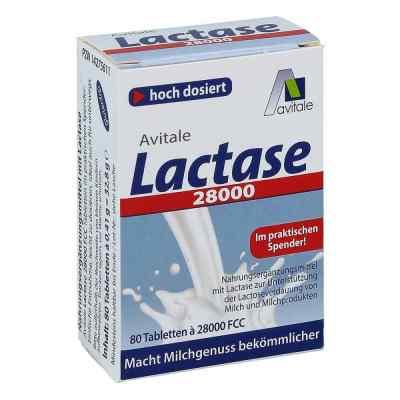 Lactase 28.000 Fcc Tabletten im Spender  bei apotheke-online.de bestellen