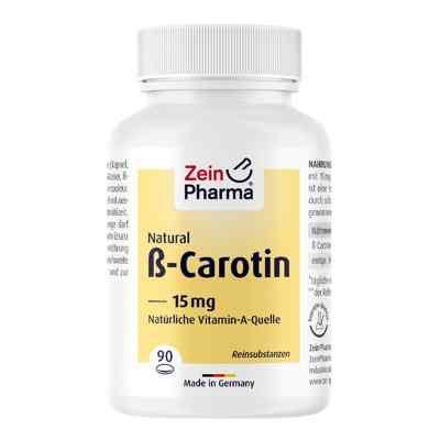 Beta Carotin Natural 15 mg Zeinpharma Weichkapseln  bei apo.com bestellen
