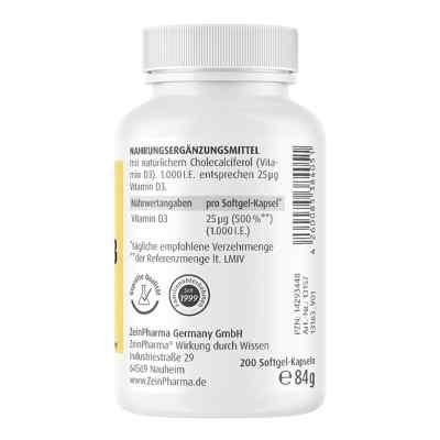 Vitamin D3 1.000 I.e. Softgelkapseln Zeinpharma  bei apo.com bestellen
