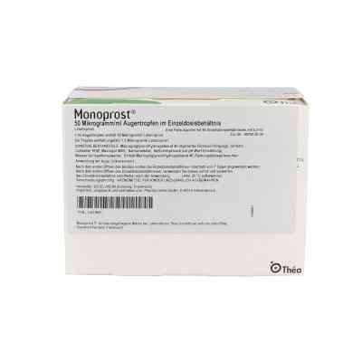 Monoprost 50 Mikrogramm/ml Augentropfen in Einzeldosen  bei apo.com bestellen
