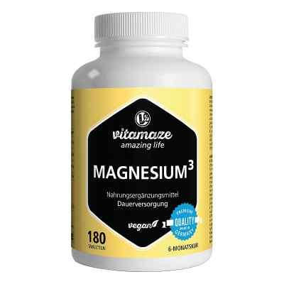 Vitamaze MAGNESIUM 350 mg Komplex Citrat/Oxid/Carbon.vegan  bei apo.com bestellen