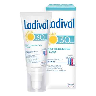 Ladival Sonnenschutz Gesicht Fluid mattierend LSF 30  bei apo.com bestellen