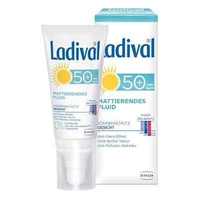 Ladival Sonnenschutz Gesicht Fluid mattierend LSF 50+  bei apo.com bestellen